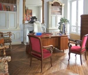 Bureau de Valéry Montourcy