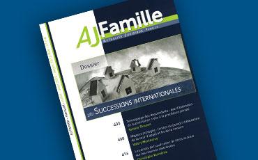 Nouvel article en droit des majeurs vulnérables publié par Valéry Montourcy dans la revue AJ Famille (éd. Dalloz) du mois de juillet-août 2015…