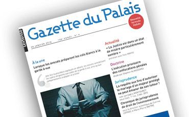 Nouvel article en droit des majeurs protégés de Valéry Montourcy dans la Gazette du Palais