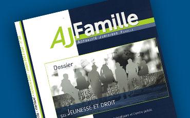 Nouvelles chroniques de Valéry Montourcy en droit des majeurs protégés, parues dans l'AJ Famille (éd. Dalloz)